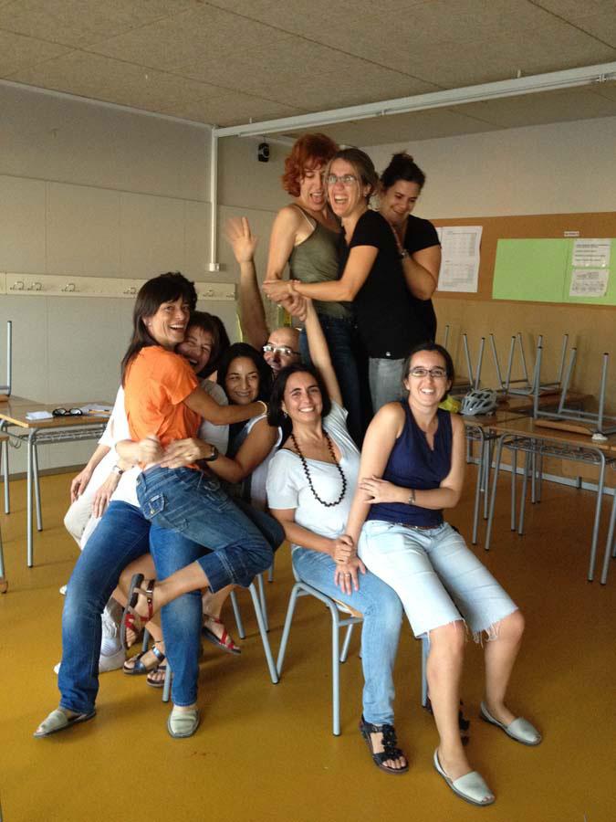Àngels Martí, formació per a professors.